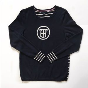 Tommy Hilfiger Logo Sweater Pullover Size M